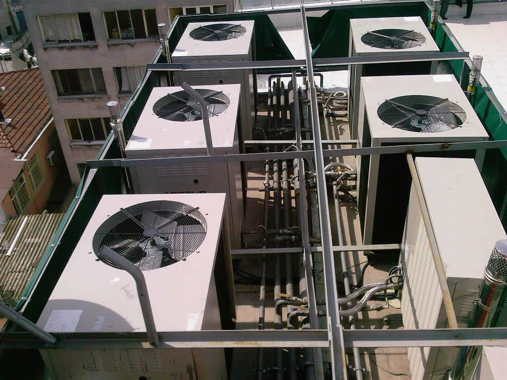 Havalandırma, iklimlendirme ve ısıtma sistemlerinin projelendirilmesi